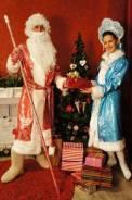 Добрый Дедушка Мороз и красивая Снегурочка на дом