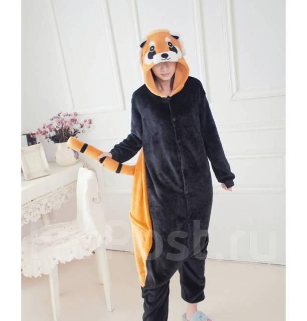 Пижама Кигуруми енот. ( красная панда) - Одежда для дома и сна во ... b58a12b7fa026