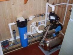 Монтаж систем водоснабжения и теплого пола