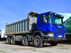 Scania P380. Самосвал 8х4, 12 000 куб. см., 32 660 кг.