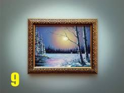 """Картина из серии - """"Зимняя сказка"""" (9). Нестеров."""