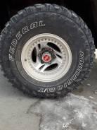 33x12,50R15LT на Safari - Delica. На японских дисках грязевая резина. 8.5x15 6x139.70 ET-32