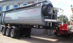 Grunwald. Самосвальный полуприцеп TSt34, 29 400 кг.