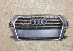 Решетка радиатора. Audi Q3, 8UG Двигатели: CCTA, CLJA, CLLB, CULB, CULC, CUVB, CUVC, CUVD, CUWA, CWLA, CYLA, CZCA, CZDA, CZDB, CZEA, DBBA, DFTA, DFTB...