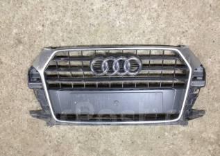 Решетка радиатора. Audi Q3, 8UG Двигатели: CULB, CULC, CUVC, CUVD, CYLA, CLLB, CLJA, CWLA, DFUA, CZDB, CZCA, DFTB, DFTA, CZEA, CZDA, DFTC, CUWA, CUVB...