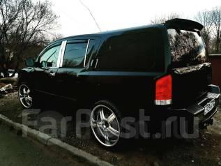 Колеса Luxury ХРОМ R24 на джип большая полка. 9.5x24 6x139.70 ET18