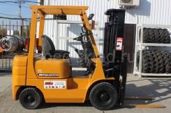 Mitsubishi. Японский вилочный погрузчик KFG15