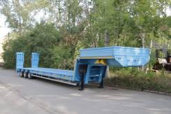 Чмзап 99064. Полуприцеп (тяжеловоз), низкорамник, 45 000 кг.