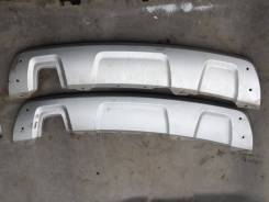 Накладка на бампер. Renault Duster, HSA, HSM Двигатели: K4M, F4R, K9K