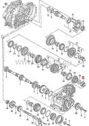 Подшипник кпп. Volkswagen: Passat, Vento, Corrado, Transporter, Jetta, Golf Audi S3, 8L1 Audi A3, 8L1 Двигатели: 1F, 1H, 1Y, 1Z, 2E, 4A, 9A, AAA, AAM...