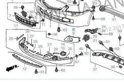 Заглушка противотуманной фары правая Honda 71102SEA010ZD