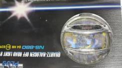 """Фары противотуманные (дополнительного освещения) новые (цена за компл 2 шт) NS-880R стекло желтое , хром """"SACA"""" TV"""