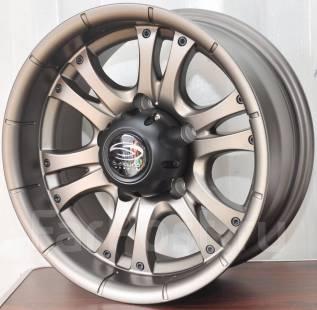 Sakura Wheels. 7.0x15, 5x139.70, ET-10