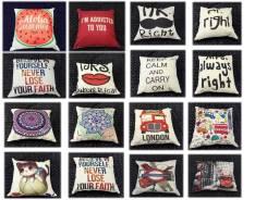 Распродажа интерьерных подушек - идеальный подарок!. Акция длится до 10 марта