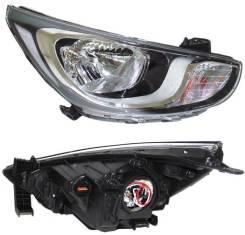 Фара Hyundai Solaris 10-14