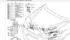 Блок реле. Toyota Camry Gracia, SXV25W, SXV25 Toyota Ipsum, SXM15G, SXM10, SXM10G, SXM15 Toyota Picnic, SXM10L, SXM10 Двигатели: 5SFE, 3SFE