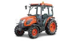 Kioti. Корейский мини трактор DK5510 HS cab