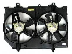 Вентилятор охлаждения радиатора. Nissan X-Trail, T30 Двигатели: QR20DE, QR25DE, YD22ETI