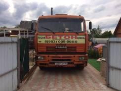 Камаз 6520-61. Продается бетоносмеситель на базе КамАЗ 6520-61 2008 выпуска ЕВРО3, 12 000 куб. см., 9,00куб. м.