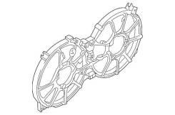 Диффузор. Nissan Teana, PJ32, J32, TNJ32, J32R Nissan Murano, PNZ51, TNZ51, Z51, Z51R Двигатели: VQ35DE, QR25DE, VQ25DE