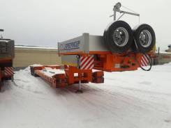 Спецприцеп. 3-х осный трал SpecPricep 994293 с передним заездом (отстегун, корыто), 45 000 кг.