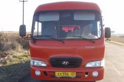 Hyundai County. , 3 900 куб. см., 18 мест