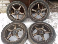 Advan Racing TCIII. 7.5x18, 5x100.00, ET48, ЦО 56,1 мм.