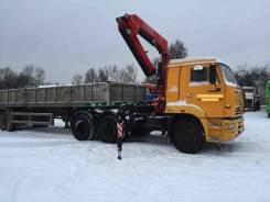 Камаз 65116. Седельный тягач 65116 с Fassi F155A.0.22, 6 700 куб. см., 15 575 кг. Под заказ