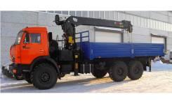 Камаз 65116. Седельный тягач 65116 с HIAB 144B-2 Duo, 6 700 куб. см., 15 575 кг. Под заказ