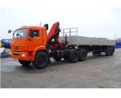 Камаз 65116. Седельный тягач 65116 с HIAB 166B2 Duo, 6 700 куб. см., 15 575 кг. Под заказ