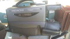 Профессиональная видеокамера Hitachi VHS video camera/recorder VM-2980. Менее 4-х Мп, с объективом