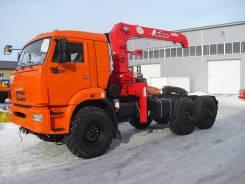 Камаз 65111. Седельный тягач 65111 с Soosan SCS 513 STD, 11 000 куб. см., 25 000 кг. Под заказ