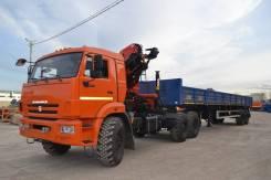 Камаз 65111. Седельный тягач 65111 с Palfinger PK18500A, 11 000 куб. см., 25 000 кг. Под заказ