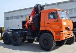 Камаз 65111. Седельный тягач 65111 с Palfinger PK23500A, 11 000 куб. см., 25 000 кг. Под заказ