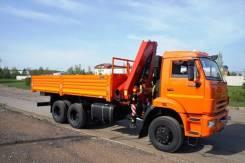 Камаз 65111. Седельный тягач 65111 с Fassi F155A.0.22, 11 000 куб. см., 25 000 кг. Под заказ