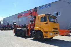 Камаз 65111. Седельный тягач 65111 с Fassi F245A.0.22, 11 000 куб. см., 25 000 кг. Под заказ