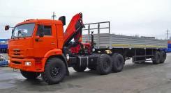 Камаз 65111. Седельный тягач 65111 с HIAB 166B2 Duo, 11 000 куб. см., 25 000 кг.