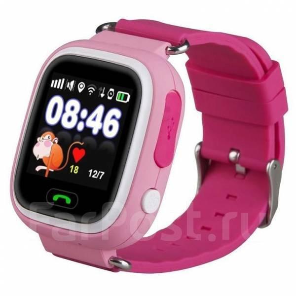 edf06c0b8efd Детские умные часы-телефон GW100 (Q80, Q90) GPS Smart Baby Watch ...