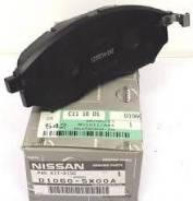 Колодка тормозная. Nissan Murano, PZ50, Z50, TZ50, TNZ51, PNZ51 Двигатели: QR25DE, VQ35DE