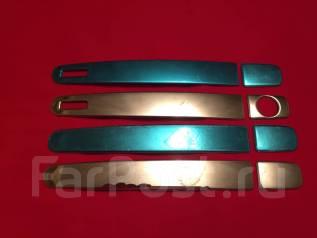 Накладка на ручки дверей. Toyota Ractis, NCP120, NCP125, NSP120, NSP122, NCP122 Двигатели: 1NZFE, 1NRFE