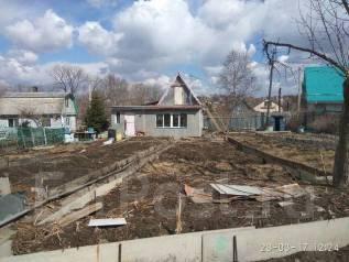 Продаётся дачный участок 13сот с двумя домами из бруса во Владивостоке. От агентства недвижимости (посредник). Фото участка