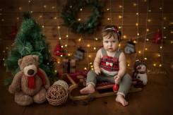 Детские фотосессии малышей до 1 года