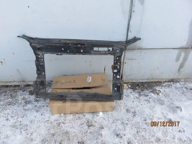 панель радиатора skoda fabia 2