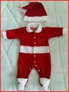 Новогодний костюмчик на новорождённого. Рост: 56-62 см