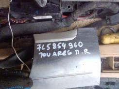 Накладка на крыло. Volkswagen Touareg, 7L6, 7L7, 7LA Двигатели: AXQ, AYH, AZZBAA, BAC, BHK, BHL, BJN, BKJ, BKS, BLE, BLK, BMV, BMX, BPD, BPE, BRJ, BWF...