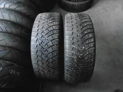 Michelin X-Ice North 2. Зимние, шипованные, износ: 10%, 2 шт