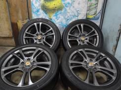 Продам Стильные колёса R-Pride+Лето Бонус 215/50R17Toyota, Honda, Nissan. 7.0x17 5x114.30 ET48