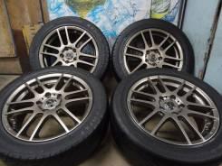 Продам Стильные колёса A-Tech Schneider+Лето Бонус215/55R17Toyota, HOND. 7.0x17 5x114.30 ET53