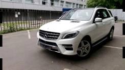 Mercedes-Benz M-класс 2014 г (W166) бампер Мерседес