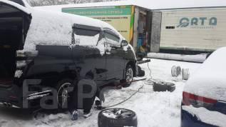 Мобильный шиномонтаж смена шин, ремонт колёс, тормозов, боковых порезов